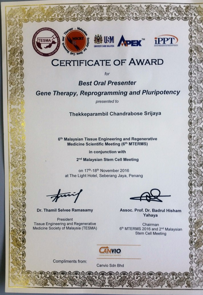 certificate-of-best-oral-presenter-award
