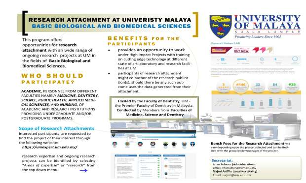 Research Attachment Brochure