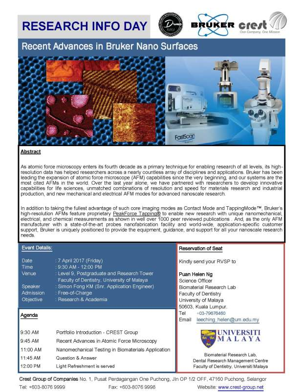 201720invite-bruker20nanosurfaces20seminar20um20dentistry